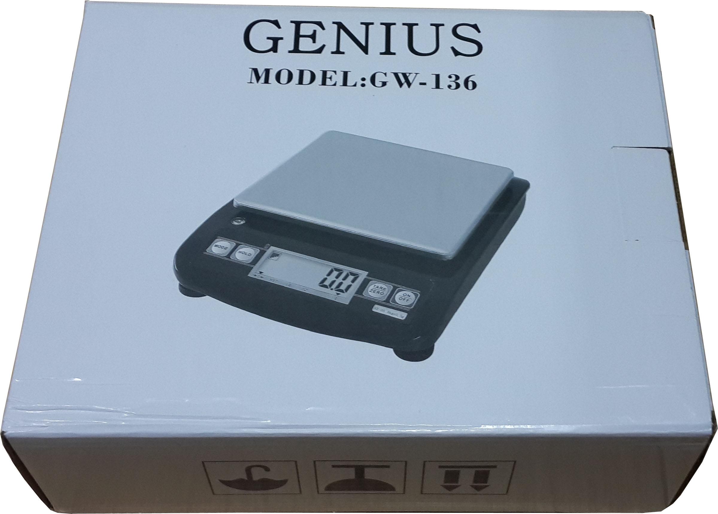 Merk GENIUS Model GW 136
